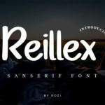 Reillex Script Font