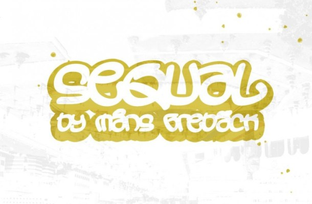 Sequal Graffiti Display Font Family