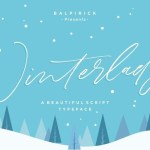 Winterlady Signature Script Font