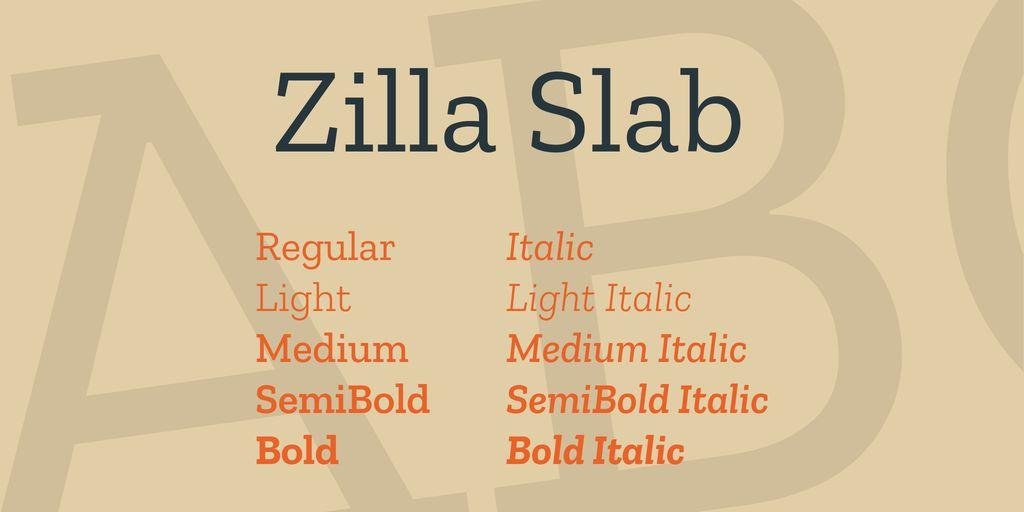 zilla-slab-font-1