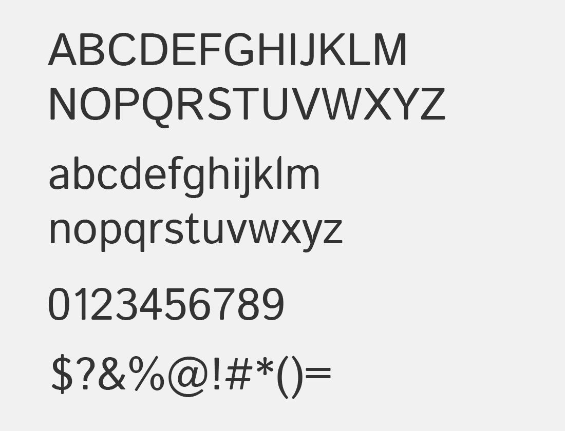 125 Istock Web font