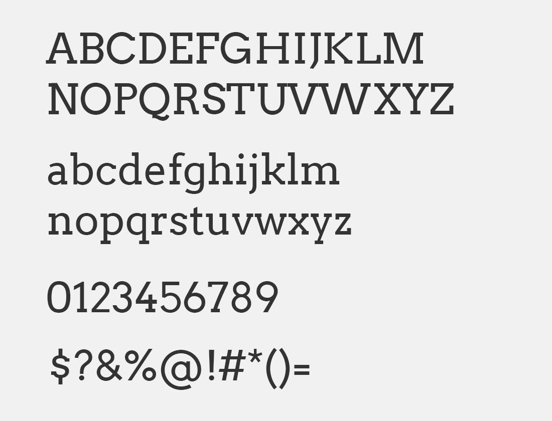 66 Arvo font