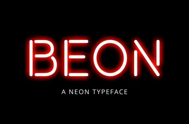 BEON Display Font