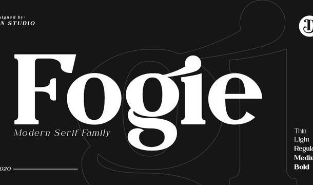 Fogie Modern Serif Font