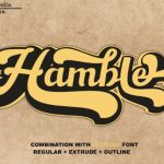 Hamble Retro Font