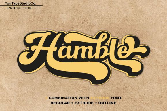 Hamble Font-1