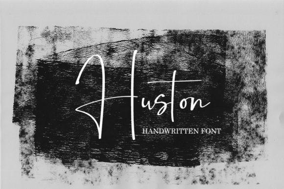 Huston Handwritten Font
