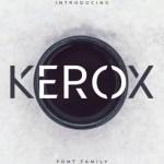 Kerox Sans Serif Font