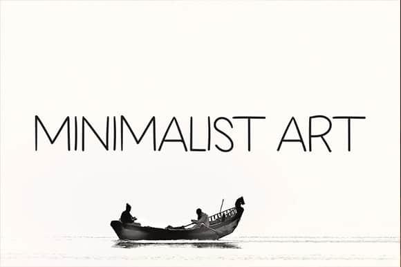 MINIMALIST ART Sans Serif Font
