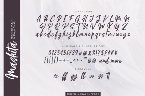 Mashita Script Font-3