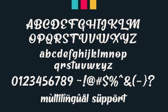 Metro Beardy Script Font-3