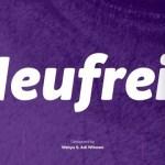 Neufreit Sans Serif Font