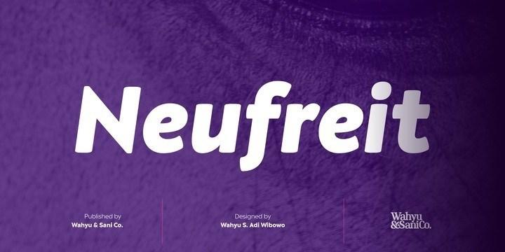 Neufreit Sans Serif Font-1