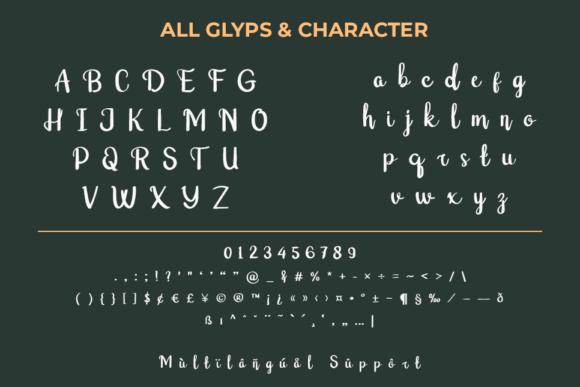 Raxey Script Font-3