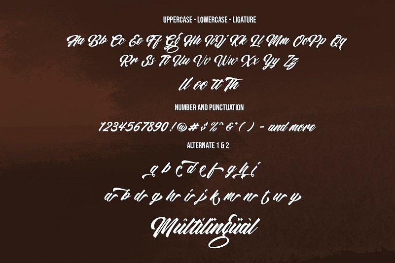 Restu Bundah - Retro Script Font-4