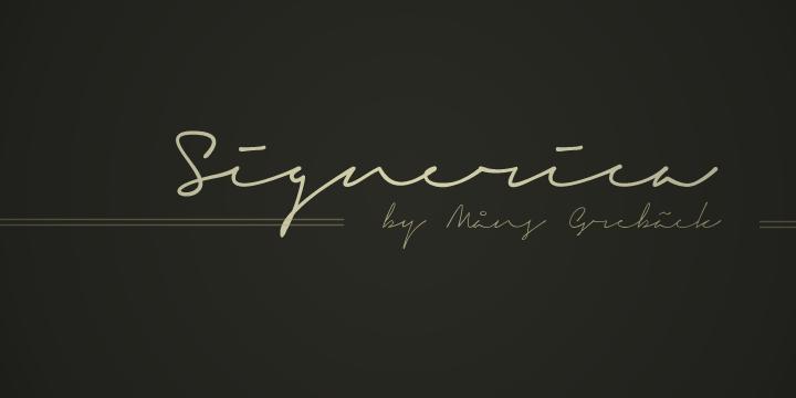 Signerica Signature Font-1