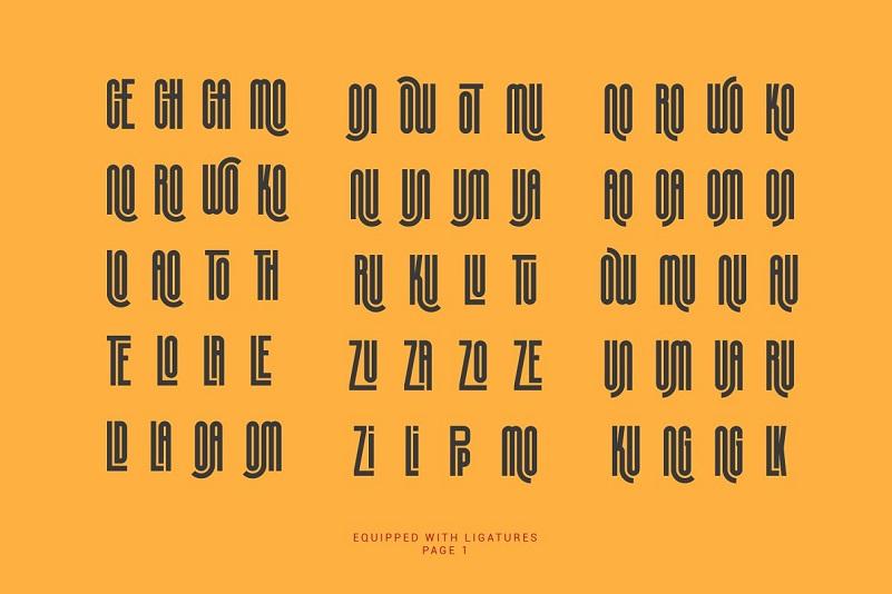 Silver Crown Font-4