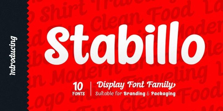 Stabillo Font-1