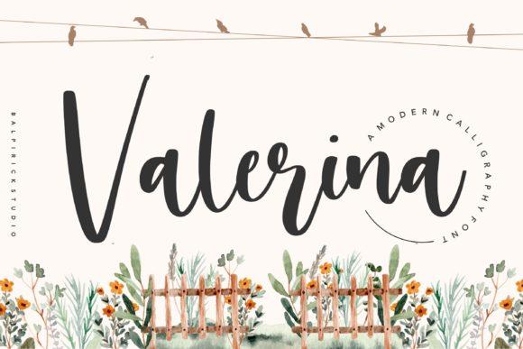 Valerina Calligraphy Font