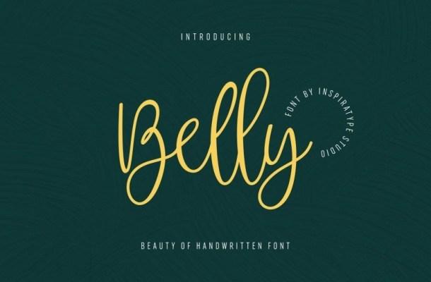 Belly Beauty Handwritten Font