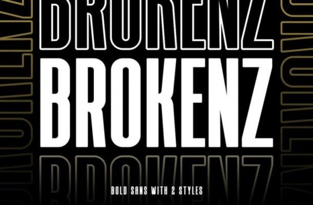 Brokenz Bold Sans Serif Font