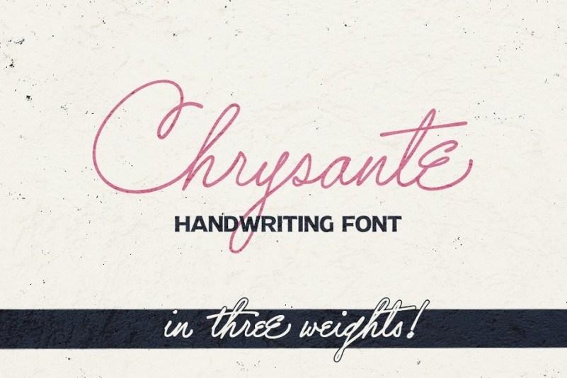 chrysante-font-1