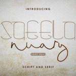 Saeela Nuary Font Duo