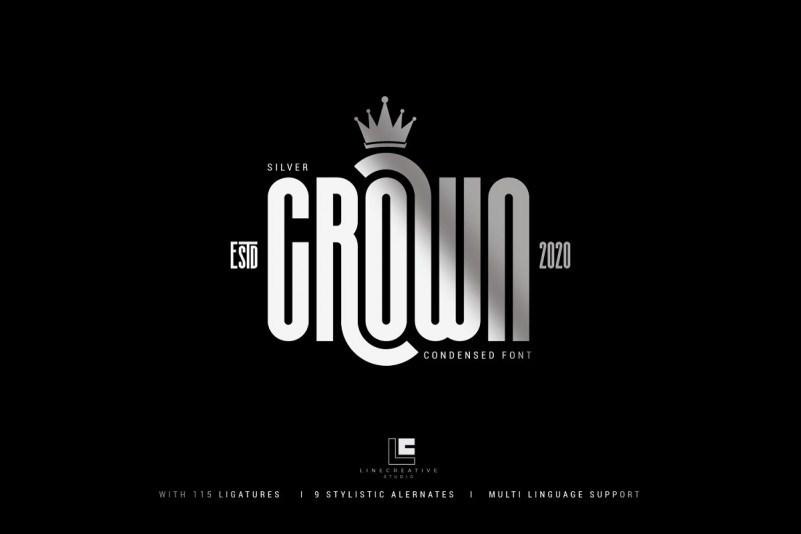 silver-crown-font-1