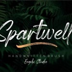 Spartwell Handwritten Brush Font