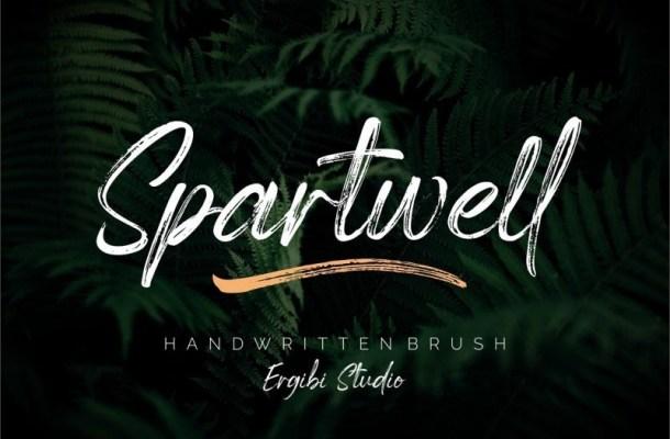 Spartwell Handwritten Brush Font