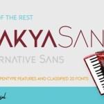 Trakya Sans Serif Font