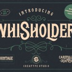 Whisholder Vintage Retro Font