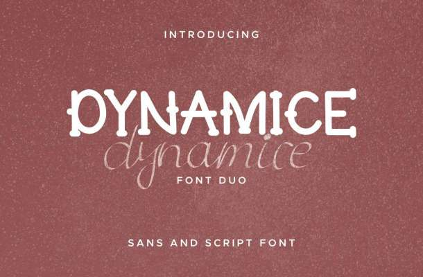 Dynamice Font Duo-1