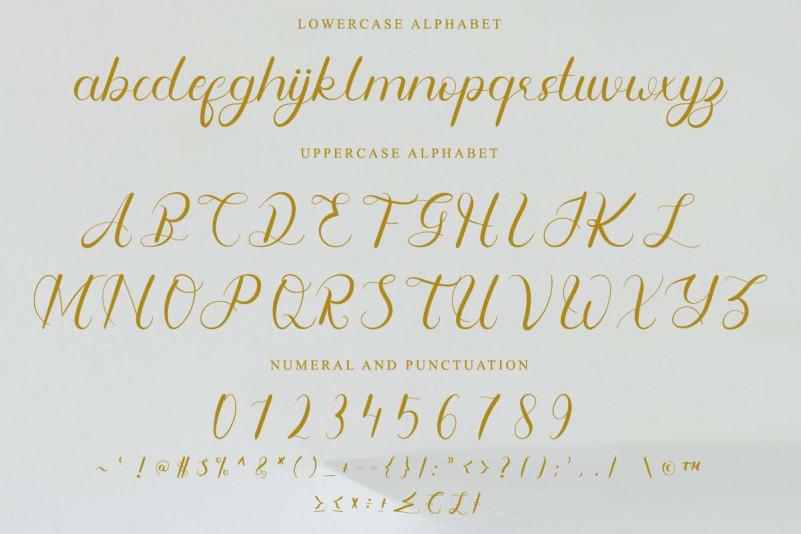 Fangirliya Calligraphy Font-3