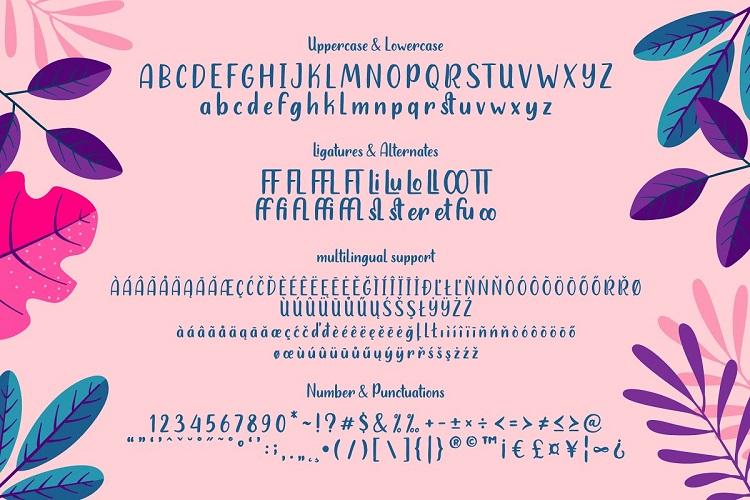Heylolly Display Font-3