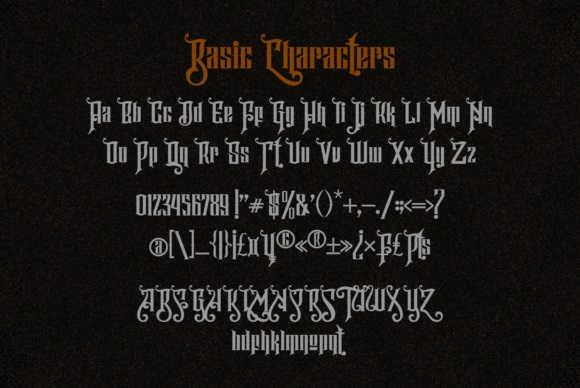 Hijrah Display Gothic Font-4
