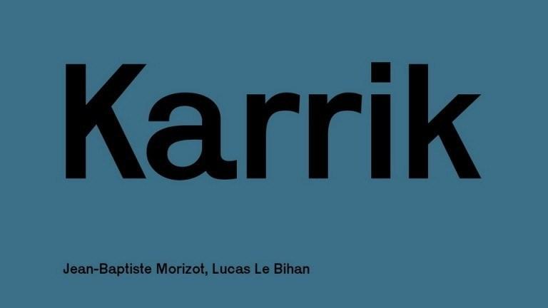 Karrik Sans Serif Font-1