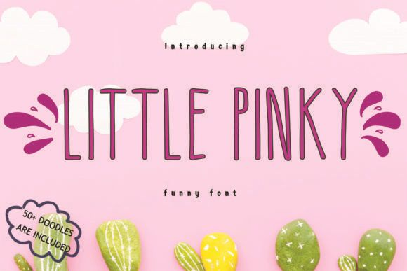 Little Pinky Handwritten Font