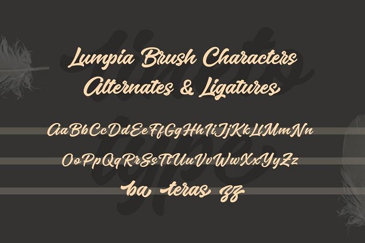 Lumpia Brush Script Font-3