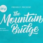 Mountain Bridge Bold Script Font