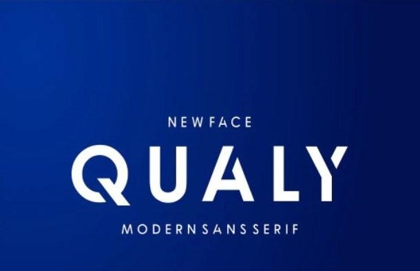 Qualy Sans Serif Font