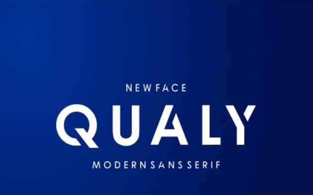 Qualy Sans Serif Font-1