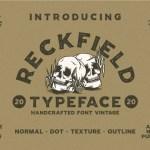 Reckfield Display Typeface