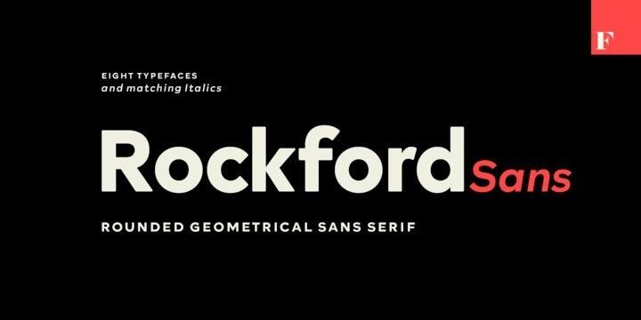 Rockford Sans Serif Font-1
