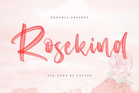 Rosekind Brush Script Font