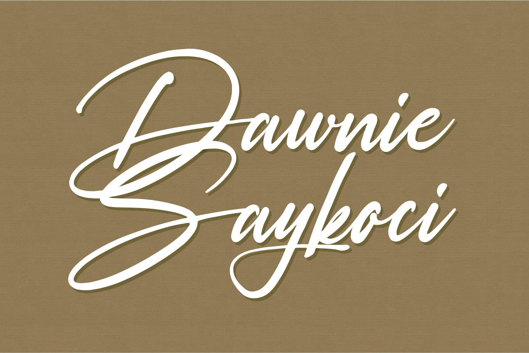 Rosellinda Alyamore Signature Font-2