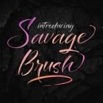 Savage Brush Script Font