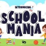 School Mania Display Font