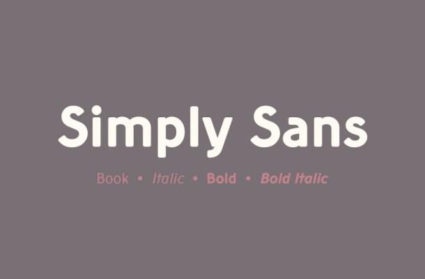 Simply Sans Serif Font
