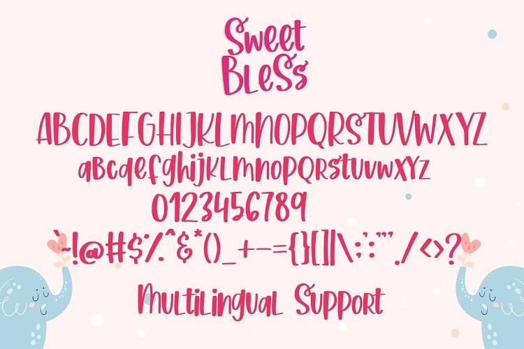 Sweet Bless Handwritten Font-3